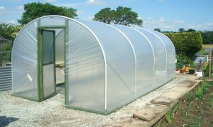 Just in case you don't know what a polytunnel looks like!
