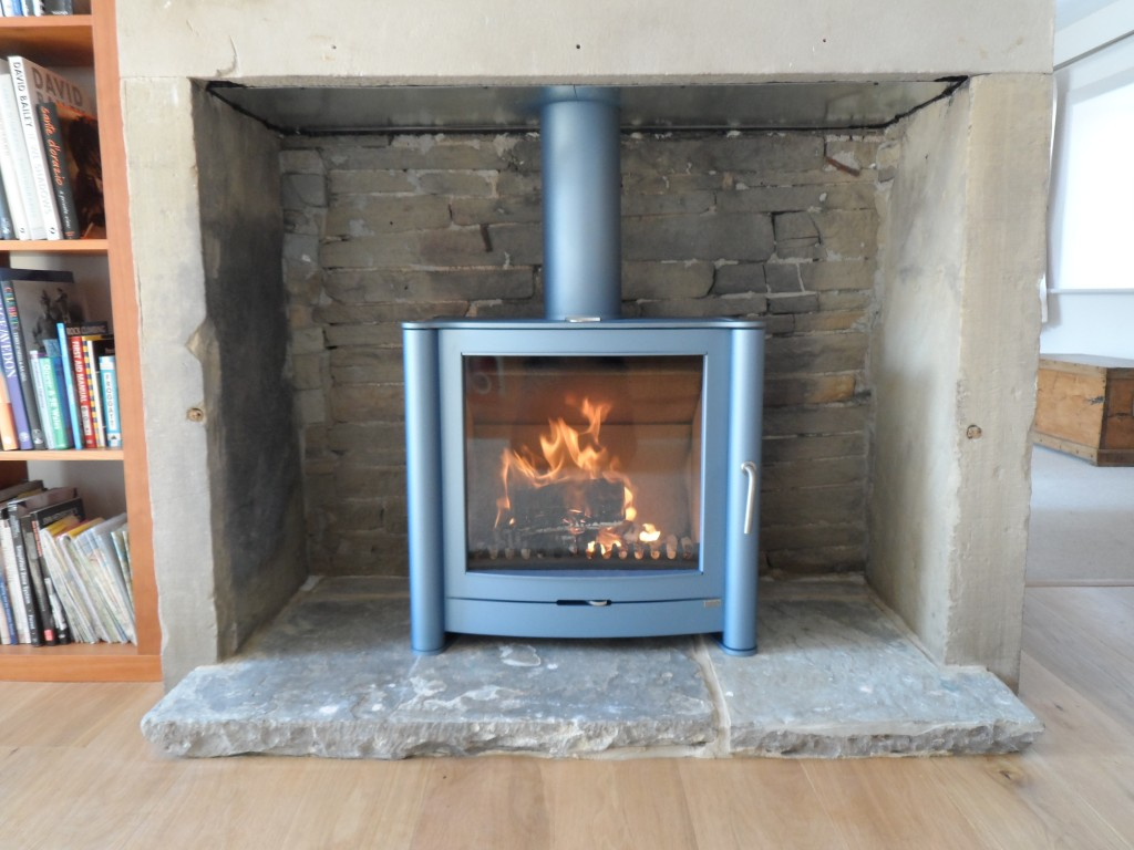 This was installed in the hall today and looks great.  It is a Firebelly FB2 supplied direct from the local manufacturer based in Elland (Halifax).  They are an absolute pleasure to do business with.  Highly recommended.