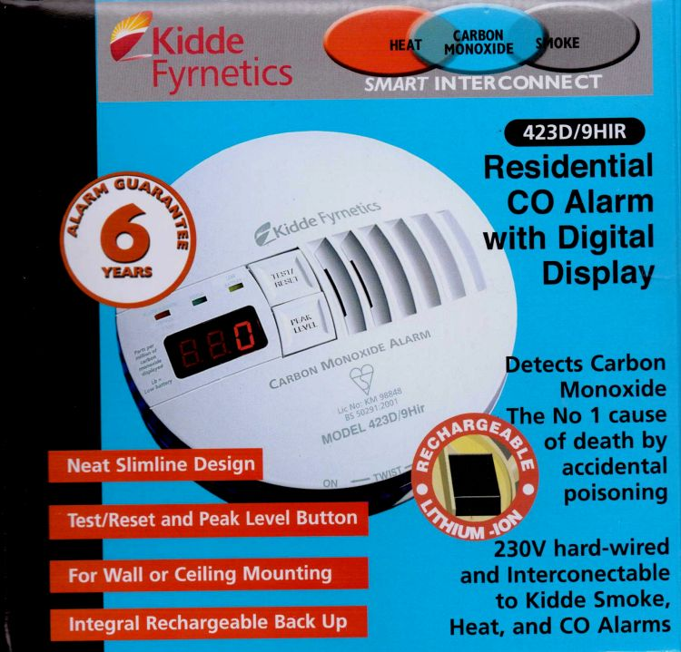 To comply with the latest building regulations, carbon monoxide detectors need to be fitted in rooms where there are solid fuel stoves.  With three log burning stoves, this means three detectors.  They also need to be hardwired into the heat and smoke detectors in the rest of the building.