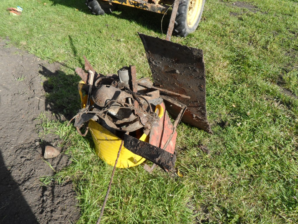 All of this metal work came out of this very small area of ground.  It gets to a point where you want to stop digging!