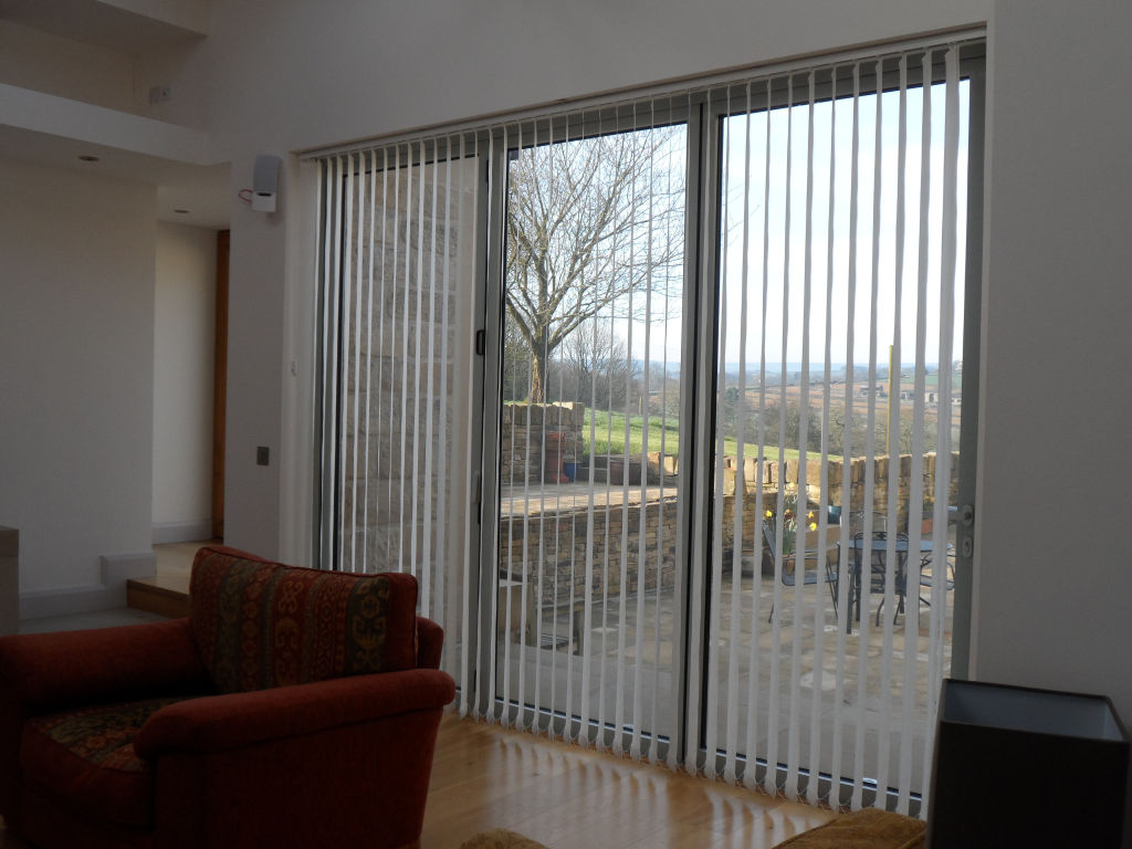 Blinds in the lounge